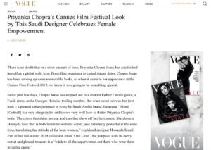 HONAYDA Vogue Arabia Priyanka Chopra 1